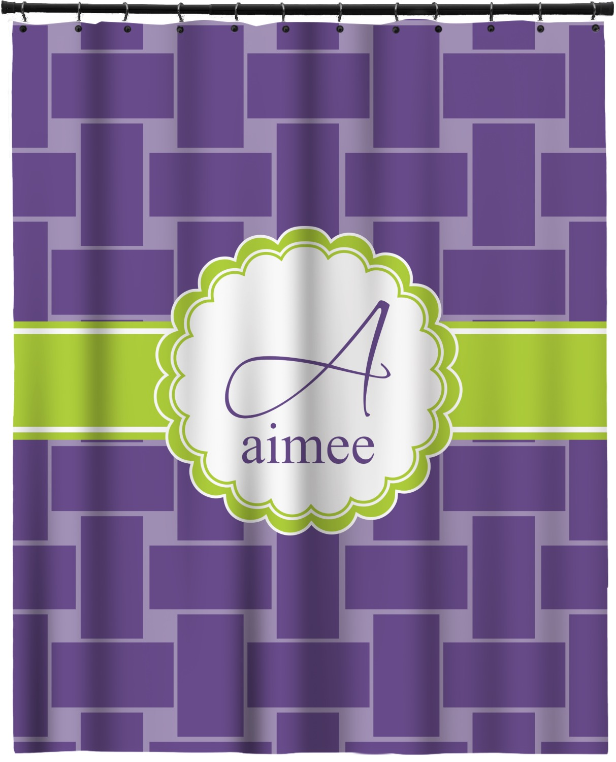 Waffle Weave Extra Long Shower Curtain