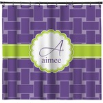 Waffle Weave Shower Curtain (Personalized)