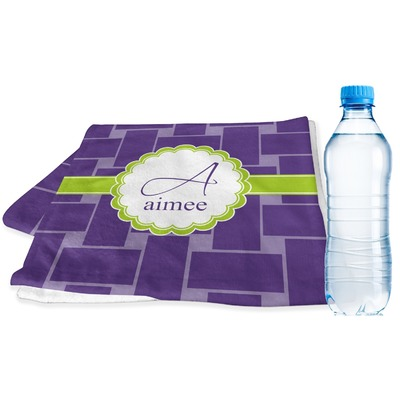 Waffle Weave Sports & Fitness Towel (Personalized)