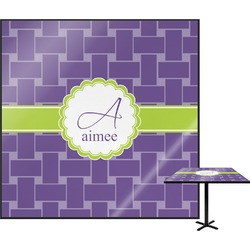 Waffle Weave Square Table Top (Personalized)