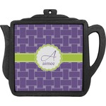 Waffle Weave Teapot Trivet (Personalized)