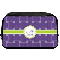 Waffle Weave Toiletry Bag / Dopp Kit (Personalized)