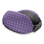 Waffle Weave Travel Neck Pillow