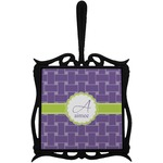 Waffle Weave Trivet with Handle (Personalized)