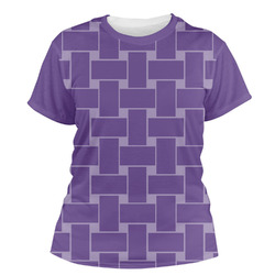 Waffle Weave Women's Crew T-Shirt (Personalized)