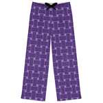 Waffle Weave Womens Pajama Pants (Personalized)