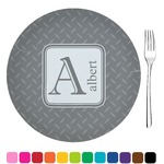 Diamond Plate Glass Appetizer / Dessert Plates 8