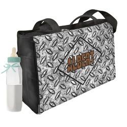 Diamond Plate Diaper Bag (Personalized)