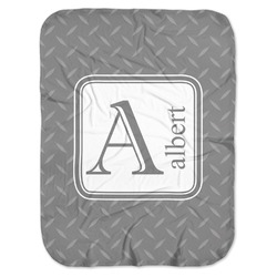 Diamond Plate Baby Swaddling Blanket (Personalized)