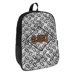Diamond Plate Kids Backpack (Personalized)