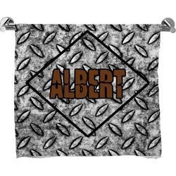 Diamond Plate Bath Towel (Personalized)