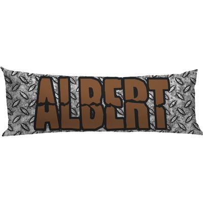 Diamond Plate Body Pillow Case (Personalized)