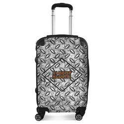 Diamond Plate Suitcase (Personalized)