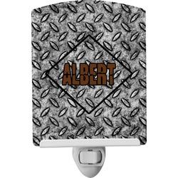 Diamond Plate Ceramic Night Light (Personalized)