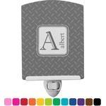 Diamond Plate Ceramic Night Light (Personalized)