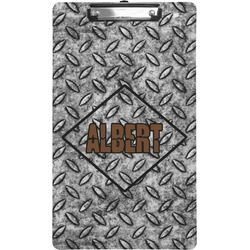 Diamond Plate Clipboard (Legal Size) (Personalized)