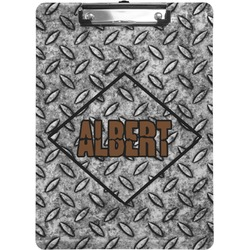 Diamond Plate Clipboard (Personalized)