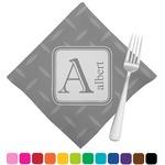Diamond Plate Napkins (Set of 4) (Personalized)