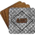 Diamond Plate Coaster Set (Personalized)