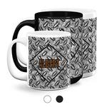 Diamond Plate Coffee Mugs (Personalized)
