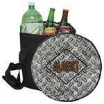 Diamond Plate Collapsible Cooler & Seat (Personalized)