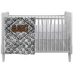 Diamond Plate Crib Comforter / Quilt (Personalized)
