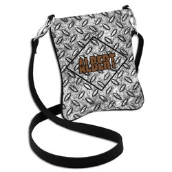 Diamond Plate Cross Body Bag - 2 Sizes (Personalized)