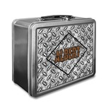 Diamond Plate Lunch Box (Personalized)