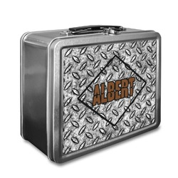 Diamond Plate Lunch Box (Personalized)