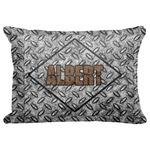 "Diamond Plate Decorative Baby Pillowcase - 16""x12"" (Personalized)"