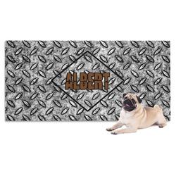 Diamond Plate Pet Towel (Personalized)