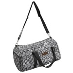 Diamond Plate Duffel Bag (Personalized)