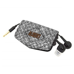 Diamond Plate Genuine Leather Cord Wrap (Personalized)