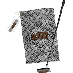 Diamond Plate Golf Towel Gift Set (Personalized)