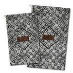 Diamond Plate Golf Towel - Full Print w/ Name or Text