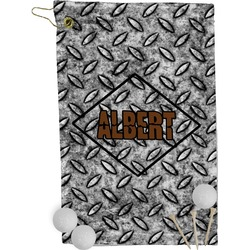 Diamond Plate Golf Towel - Full Print (Personalized)