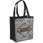 Diamond Plate Grocery Bag (Personalized)