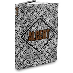 Diamond Plate Hardbound Journal (Personalized)