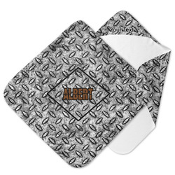 Diamond Plate Hooded Baby Towel (Personalized)