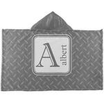 Diamond Plate Kids Hooded Towel (Personalized)