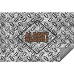 Diamond Plate Indoor / Outdoor Rug (Personalized)