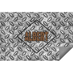 Diamond Plate Indoor / Outdoor Rug - 6'x9' (Personalized)