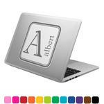 Diamond Plate Laptop Decal (Personalized)