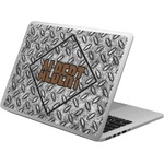 Diamond Plate Laptop Skin - Custom Sized (Personalized)