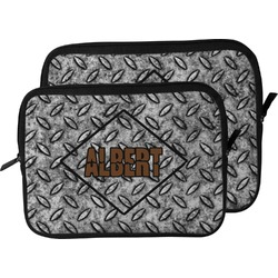 Diamond Plate Laptop Sleeve / Case (Personalized)