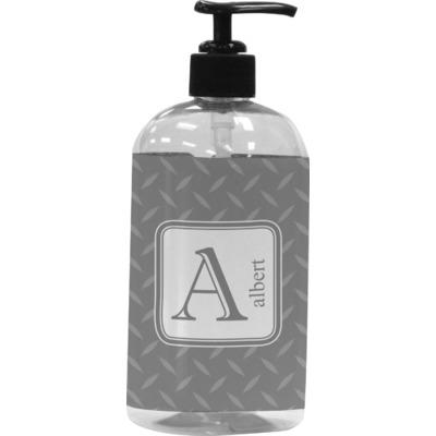 Diamond Plate Plastic Soap / Lotion Dispenser (Personalized)