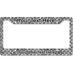 Diamond Plate License Plate Frame (Personalized)