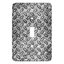 Diamond Plate Light Switch Covers (Personalized)