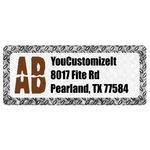Diamond Plate Return Address Labels (Personalized)