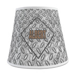 Diamond Plate Empire Lamp Shade (Personalized)